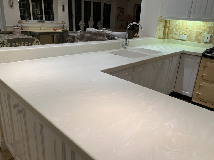 Corian kitchen worktop -9